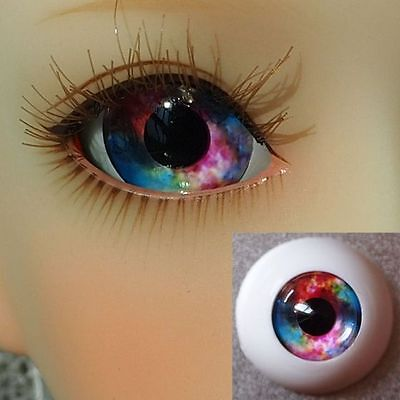 #XHA4 - Acrylic Eyes for BJD Doll 12 14 16mm 18 20 22 SD13/10 Dollfie Blue Red