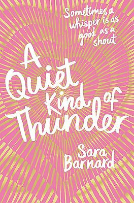 A Quiet Kind of Thunder by Sara Barnard Paperback BRAND NEW BESTSELLER