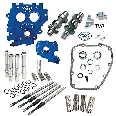 S&S 509C Chain Drive Cam Camchest Kit w/ Pushrods Oil Pump Plate Harley 99-06