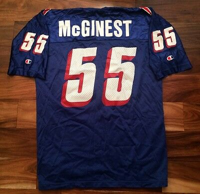 on sale 4bb06 68a68 NEW ENGLAND PATRIOTS Willie McGinest #55 Champion NFL Jersey Size Men's 44