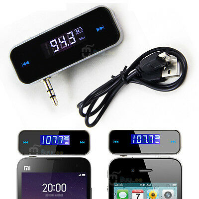 Car Wireless Mp3 Fm Radio Transmitter Hands Free For Mobile Iphone Ipod Samsung