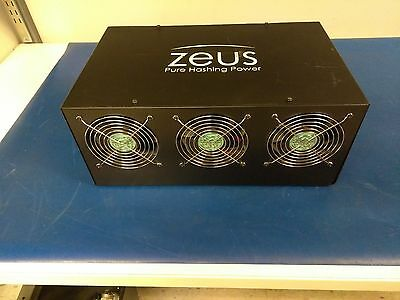 Zeus thunder x6 20-22MH/s with W/PSU and ----Script file----litecoin miner