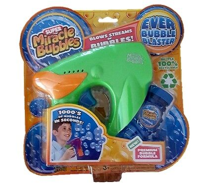 Ever Bubble Blaster Gun Blower - Super Miracle Bubbles Blowing Outdoor Toy