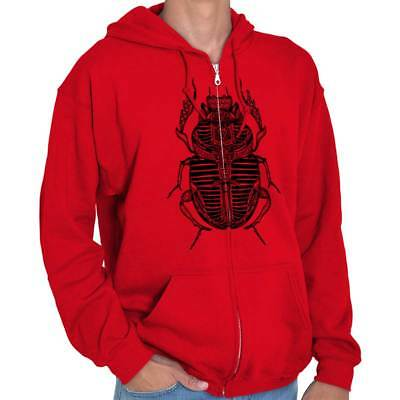 Ancient Egyptian Scarab Beetle Shirt Spirit Animal Cool Gift Zip Hoodie
