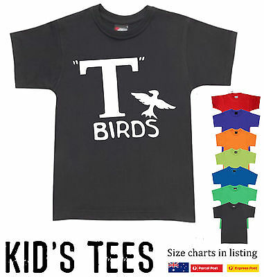 Funny T-Shirts Aussie store Grease T-Birds Gang  50's Musical kids costume new