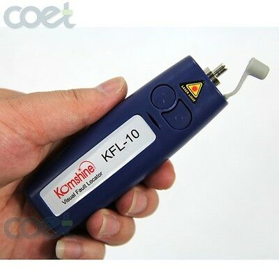 Pocket Size KomShine KFL-10-20mW 20km Mini Fiber Optic Visual Fault Locator VFL