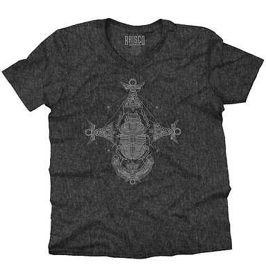 Ancient Egyptian Scarab Shirt | Symbol Spirit Animal New Age V-Neck T Shirt