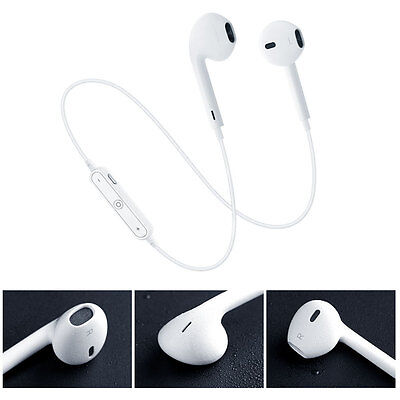 Sports Running Earphone Wireless Bluetooth Headset Headphone Mic For Iphone7plus