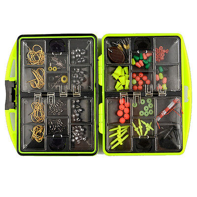Fishing Tool Set Lure Bait Hook Tackle Box Storage Case With 24 Compartments