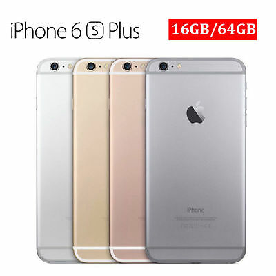 Apple iPhone 6 plus/6/5s/6s Gold Silver Grey Factory Unlocked Cell Smartphone EY