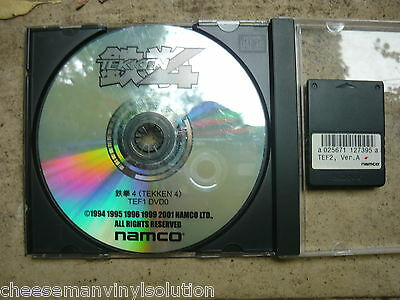 Namco Tekken 4 Dvd And Dongle.