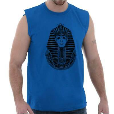 Ancient Egyptian Pharaoh Shirt | Mystic Scarab Symbol Tarot Sleeveless T Shirt