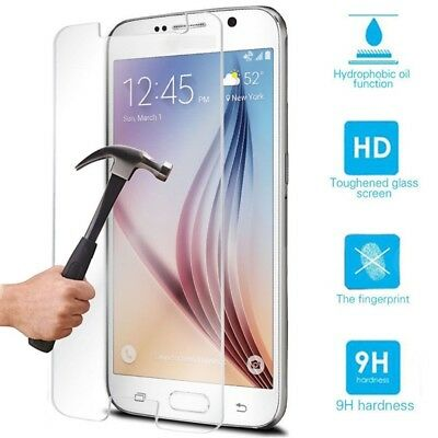 Tempered Glass Screen Protector+Clear TPU Case For Samsung Galaxy S8/Plus S005