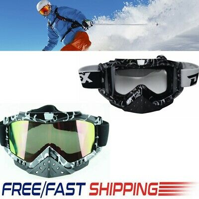 Adult Goggles Screen for Motorcycle Dirt Bike Motocross ATV MX Off-Road sa02