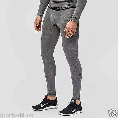 Nike Pro Cool Compression Tights - Grey - Mens