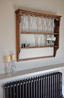 Original Victorian Antique Wall Shelves, Cabinet, dresser. Fantastic piece