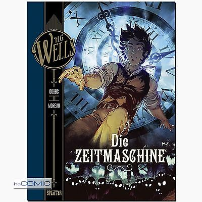H.G. Wells Die Zeitmaschine Dobbs Moreau Science Fiction COMIC KLASSIKER Splitte