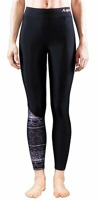 Aqua Marina ILLUSION Damen Rash Guard Legging Hose surfen sup black