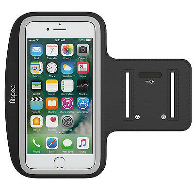 Fitspec Sports Running Jogging Gym Armband Arm Band Case For iPhone 6 / 7 Plus
