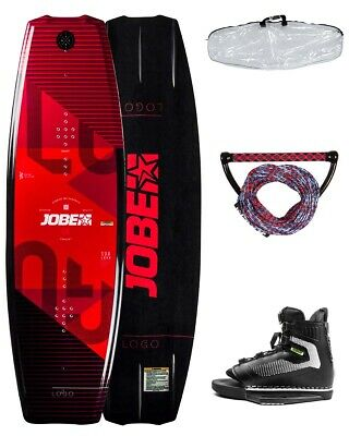 JOBE LOGO 138 Package red + Rope + Bag Wakeboard Set inkl. Bindung
