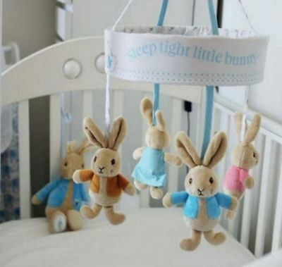 Beatrix Potter Peter Rabbit Musical Cot Mobile (0-6 months)