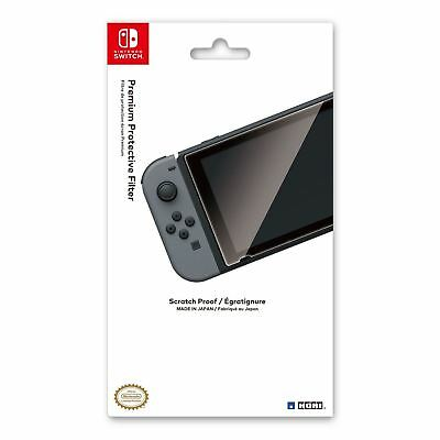 HORI Nintendo Switch: Premium Protective Filter - Scratch Proof Accessory NEW