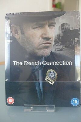 Blu ray steelbook The French Connection U.K exclusive New & Sealed NEUF avec VF