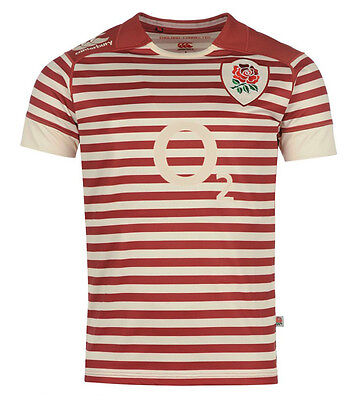 England Rugby Union Mens Stripe Jersey