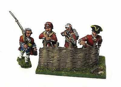 British infantry (French Indian Wars) - 28mm