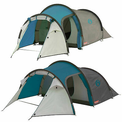 Coleman 2 3 4 Man Cortes Tent Camping Holiday Tunnel Festival Party Vacation