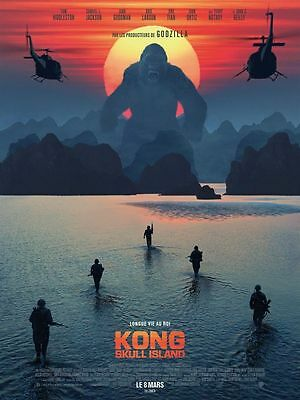 KONG Skull Island AFFICHE CINEMA ROULEE 160x120 ROLLED MOVIE POSTER