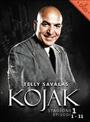 Kojak - Stagione 1 Vol. 1 (4 DVD) - ITALIANO ORIGINALE SIGILLATO -