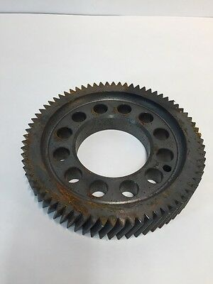 Vintage Metal Iron Sprocket Metal Gear Wheel Industrial Steampunk Lamp Base