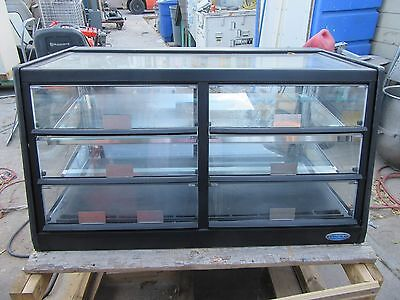 Lighted Cold Food Glass Drop In Display Case Counter Top Deli Electric