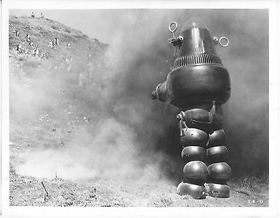 Invisible Boy/robby The Robot/1957/ 8X10 Photo From Original Neg. Cc19449  4-57