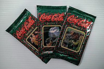 Coca-Cola Collector Cards 3 Pack (Series 2) - FREE SHIPPING