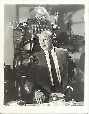 Invisible Boy/robby The Robot/1957/ 8X10 Photo From Original Neg. Cc19461  4-57