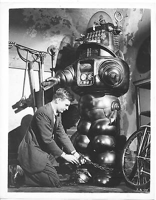 Invisible Boy/robby The Robot/1957/ 8X10 Photo From Original Neg. Cc19462  4-57