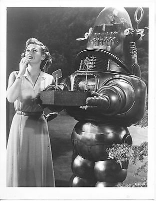 Invisible Boy/robby The Robot/1957/ 8X10 Photo From Original Neg. Cc19464  4-57