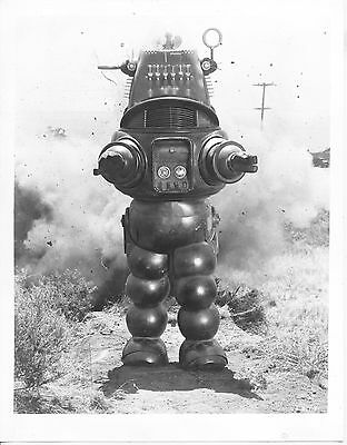 Invisible Boy/robby The Robot/1957/ 8X10 Photo From Original Neg. Cc19466  4-57