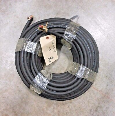 115' Cci / General Cable Soow #8Awg 4 Conductor Black Wire ($1.50 A Foot)