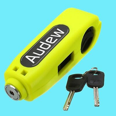Lock Anti-Theft Motorcycle Brake Lever Security Lock Handlebar Throttle Grip