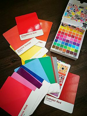 Brand new PANTONE 18 x oversized flash colour cards