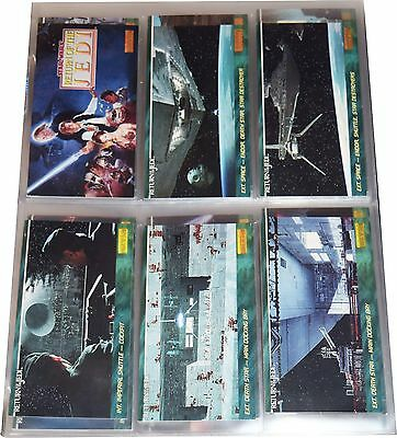 1997 Topps Star Wars Wide Vision Esb Near Set 144 Cards W/pages Mns018