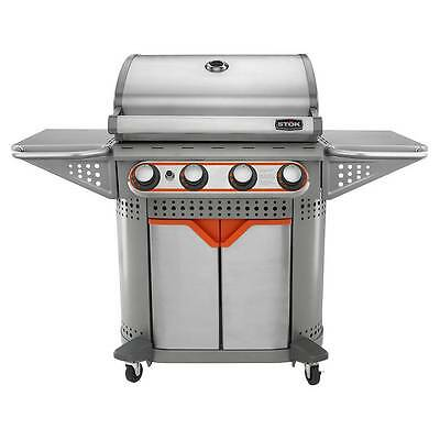 STOK Quattro  4-Burner Gas Grill 600 sq. in. w/ Insert System SGP4130N Brand New