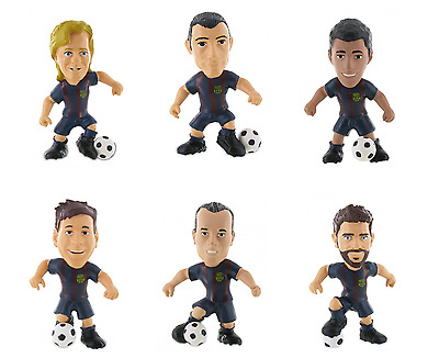 Official Bullyland Comansi FC Barcelona Figures Toy Cake Topper Toppers