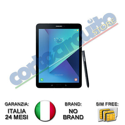 "Tablet Samsung T825 Galaxy Tab S3 9,7"" Nero Lte Wi-Fi+4G And 7 No Brand Italia"