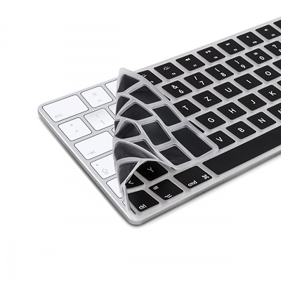 kwmobile Protection pour clavier QWERTZ en silicone pour Apple Magic Keyboard en