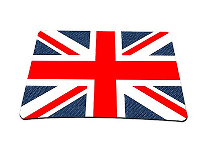 Silent Monsters Tapis de souris Motif Union Jack Taille L Multicolore