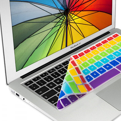 kwmobile Protection pour clavier QWERTZ en silicone pour Apple MacBook Air 13''/